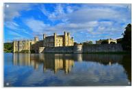 Leeds Castle, Acrylic Print
