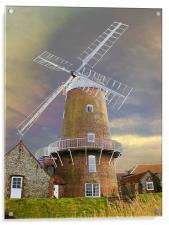 Cley Windmill, Acrylic Print