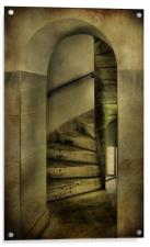 spiral staircase 2, Acrylic Print