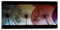 parasols, Acrylic Print