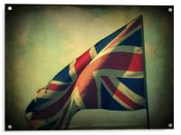 old flag, Acrylic Print