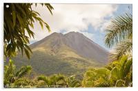 volcan Arenal Costa Rica, Acrylic Print