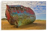 Wreck at Crowpoint, Acrylic Print