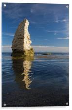 Butter Rock - Dorset, Acrylic Print