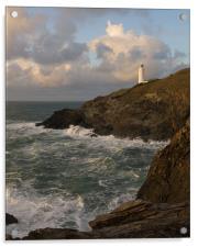 Trevose Lighthouse, Acrylic Print