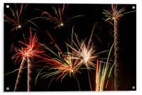 Fireworks, Acrylic Print