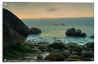 Porth Nanven - Cornwall, Acrylic Print