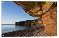 Ladram Bay - East Devon, Acrylic Print