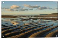 Saunton Sands Devon, Acrylic Print