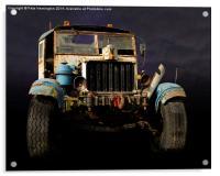 Comma truck, Acrylic Print
