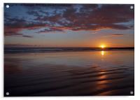 Sunset at Porthcawl, Acrylic Print