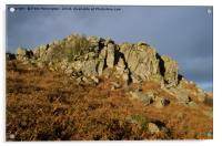 Greator Rocks on Dartmoor, Acrylic Print