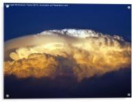 Dark Clouds - 3, Acrylic Print