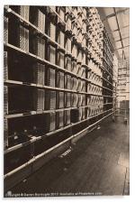 The Telephone Exchange, Acrylic Print