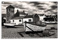 Aldeburgh Boats, Acrylic Print