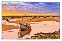 Wells Next To Sea, Acrylic Print