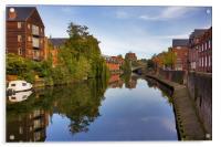Norwich Riverside, Acrylic Print