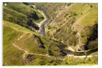 Dovedale View, Acrylic Print
