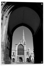 Norwich Cathedral, Acrylic Print