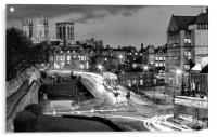 Busy York, Acrylic Print