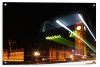 The Waterloo 211 Bus, Acrylic Print