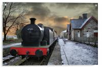 The Train Is In The Station - Version 2, Acrylic Print