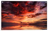 Sunset Reflections, Acrylic Print
