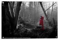 Little Red Riding Hood, Acrylic Print