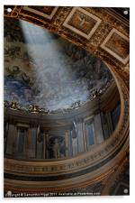 The Light in St Peter's, Acrylic Print