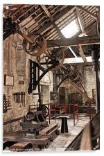 The workshop, Acrylic Print