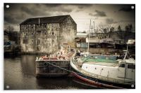 Wakefield Wharf, Acrylic Print