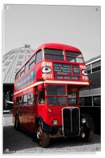 Red London Bus, Acrylic Print
