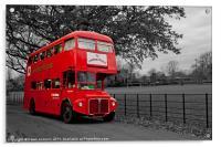 Lewisham Play Bus, Acrylic Print