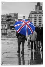 British Weather, Acrylic Print