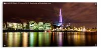 The Shard Lasers, Acrylic Print