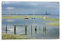 River Medway, Acrylic Print