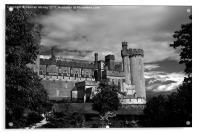 Arundel Castle, West Sussex, Acrylic Print