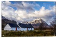 Blackrock cottage, Acrylic Print
