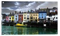 Weymouth Marina, Acrylic Print