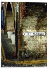 Folkestone Fish Market, Acrylic Print