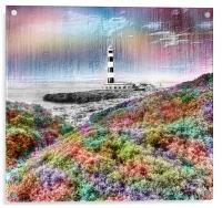 The Lighthouse, Acrylic Print