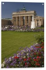 Brandenburger Tor, Acrylic Print