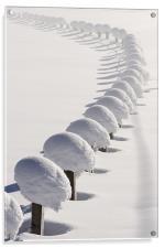 Snowchain VIII, Acrylic Print