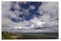St.Andrews sky, Acrylic Print