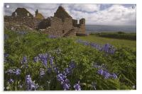 Dunnottar Castle, Acrylic Print
