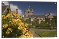 Cawdor gardens, Acrylic Print