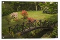 Armadale gardens, Acrylic Print