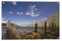 Loch Etive, Acrylic Print
