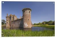 Caerlaverock Castle, Acrylic Print
