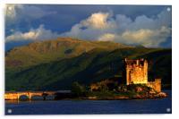 Eilean Donan sunset, Acrylic Print